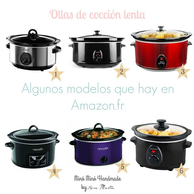 ¿Qué es una olla de cocción lenta? minominohandmade.blogspot.com.es #CrockPot #SlowCooker #OllaDeCocciónLenta