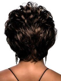 Stylish Short Curly Party Wig For Women img
