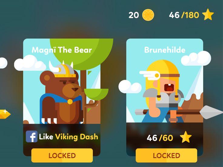 [ Shop ] Viking Dash Free App Game ! by Keyframe Factory