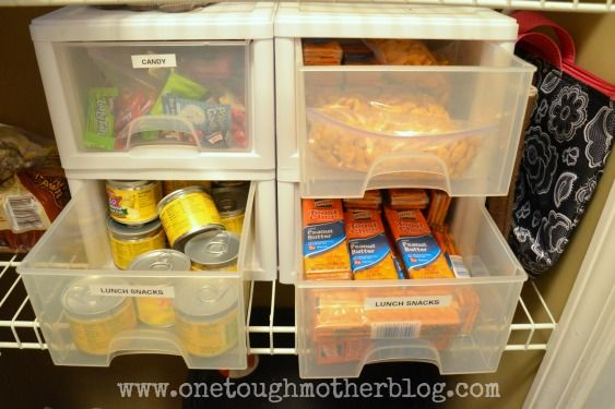 One Tough Mother | Organize, Decorate, and Craft A Good Life: Small Kitchen Organization Ideas