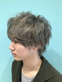 【EuphoriaHARAJUKU】Men's☆シルバーアッシュ 担当宍戸
