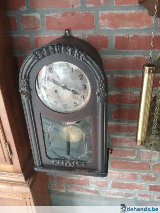 Gebruikt: werk nog (Klokken & Barometers) - Te koop in Wevelgem