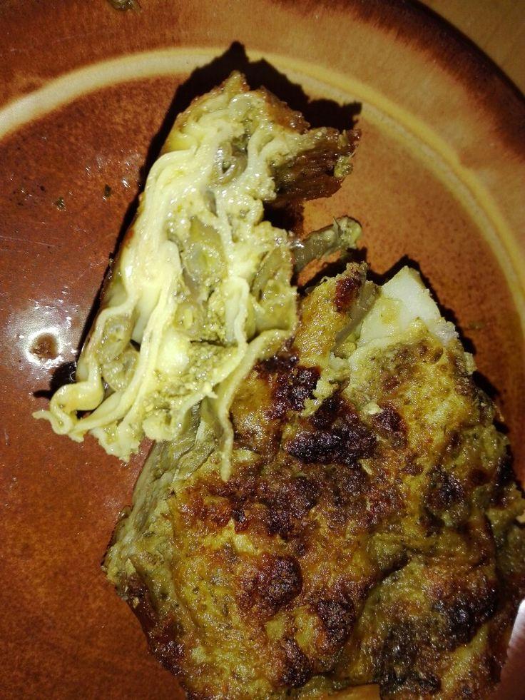 Lasagna con pesto fagiolini e patate