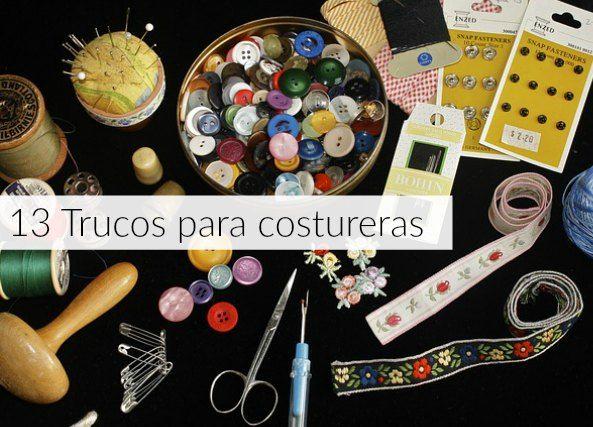 enrHedando: 13 trucos para costureras que funcionan