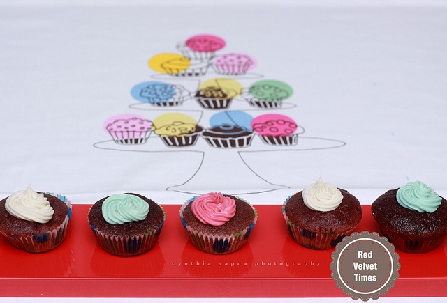 Red Velvet Cup Cakes  Step-by-step