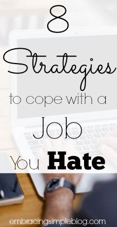 Career Advice. See More. Hate Your Job? Being Stuck In A Job You Are  Miserable At Can Become Downright