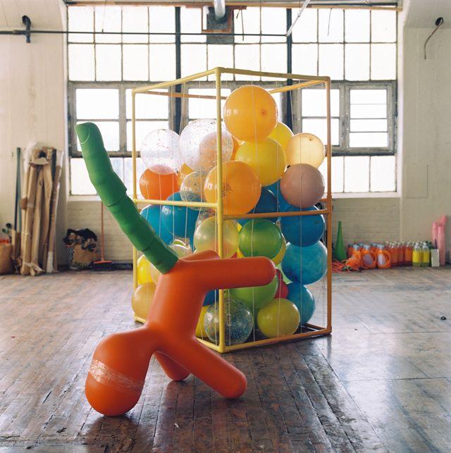 Alex Da Corte's studio
