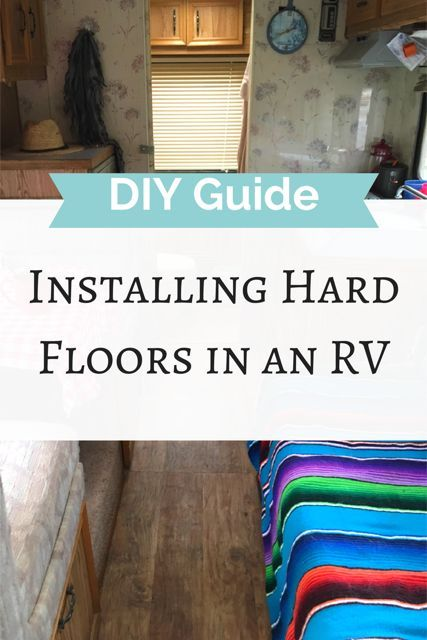 How to remove carpet and install hard floors in your RV or camper. DIY RB remodel. DIY RV ideas. DIY RV flooring. DIY RV floor. Camper life. RV living. Van life. Camper life hacks. Click visit to read more. #diyrv #diyguide #fulltimetravel #camperlife #rvlife #vanlife #rvlifestyle #camperlifestyle #roadtriphacks #rvhacks #rvtricks #rvrenovation