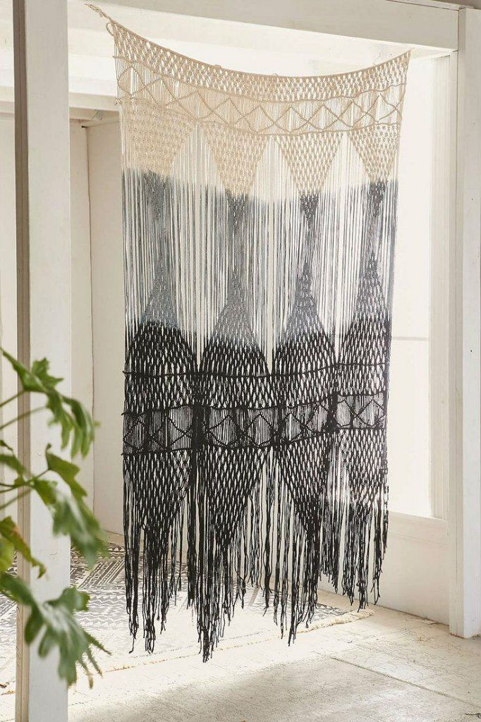 how to make macrame curtains 25 best ideas about macrame curtain on 9023