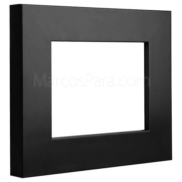 20 best marcos para molduras de madera y aluminio images - Molduras de madera para pared ...