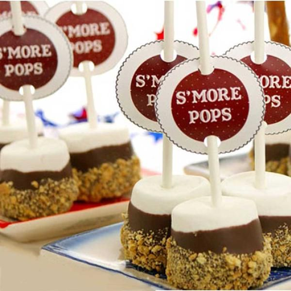 Our S'more Pops offersa delicately smooth and fluffymarshmallow,dipped in rich milk chocolate, and coated in light Honey Graham cracker crust ready toenjoy. Each box contains 12 individually wrapped popsready for sharing.                                                                                                                                                                                 More