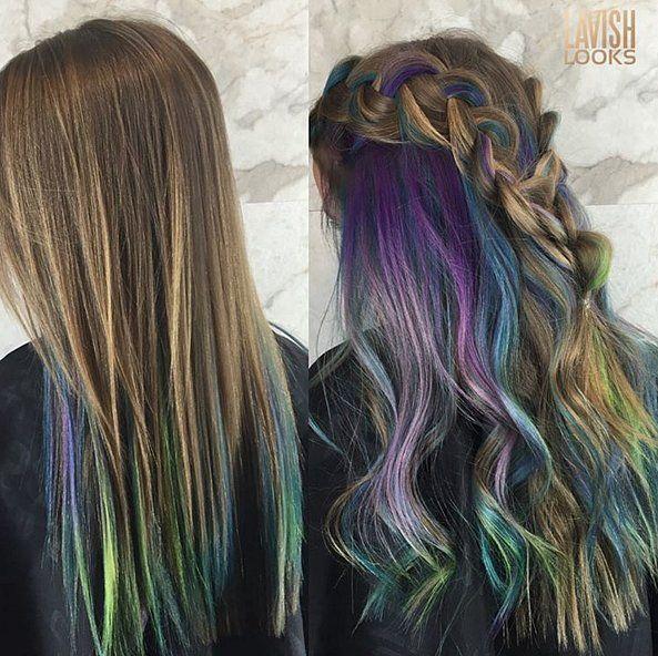 Underlights Hair Colour Trend | POPSUGAR Beauty UK