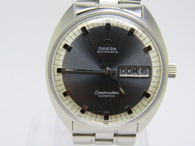 Vintage OMEGA Seamaster Cosmic Automatic Sport Gent's Stainless Steel Used Watch #Omega #Casual