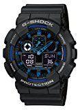 #9: Casio G-Shock  Reloj Hombre Analógico/Digital con Correa de Resina  GA-100-1A2ER