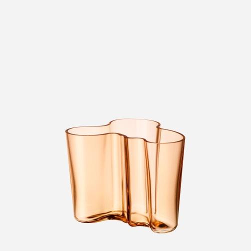 Alvar Aalto Collection Vase 120 mm Rio brown