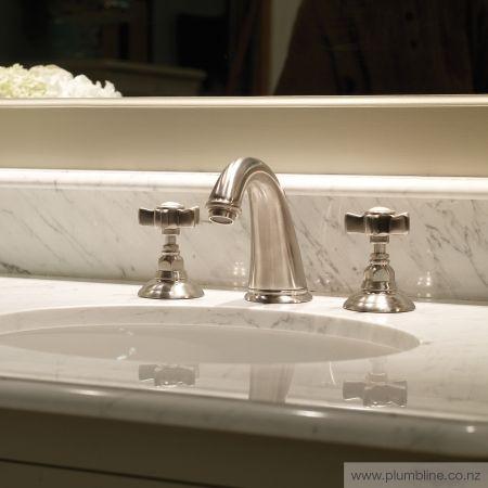 Classic 3 Hole Basin Mixer - Regal / Classic - Bathroom Tapware - Bathroom