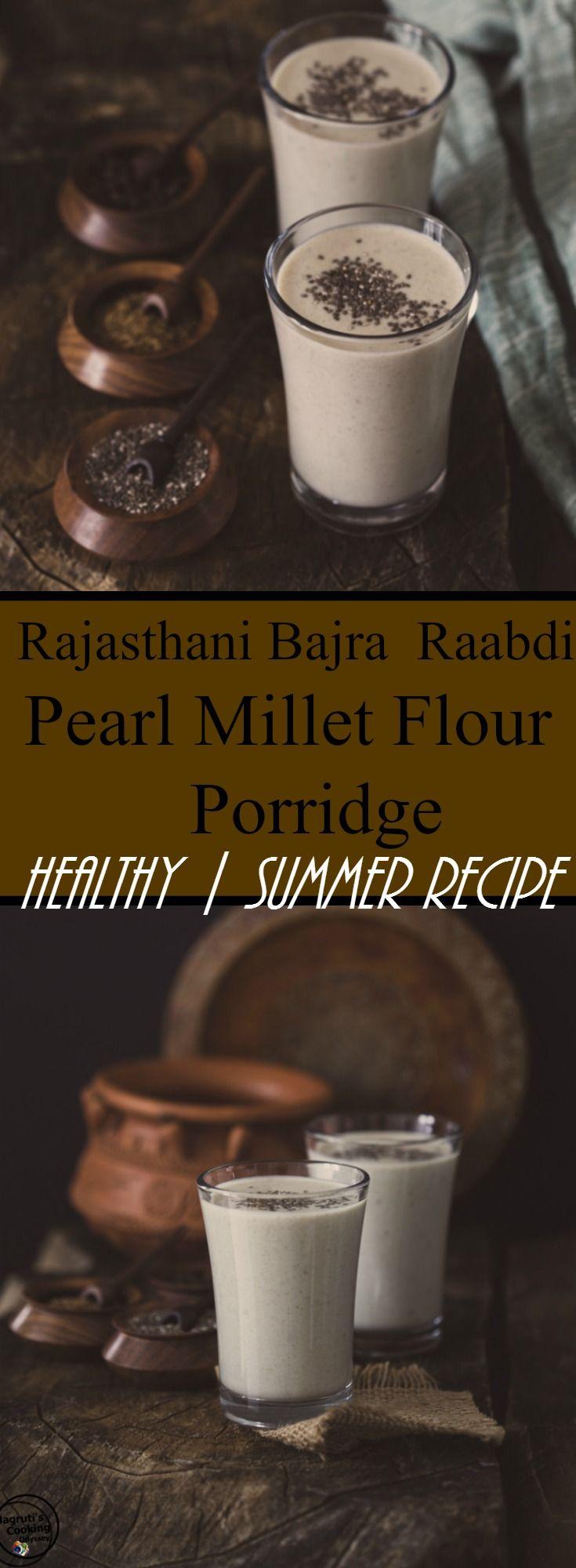 Rajasthani Bajra Raabdi - Pearl Millet Flour Porridge