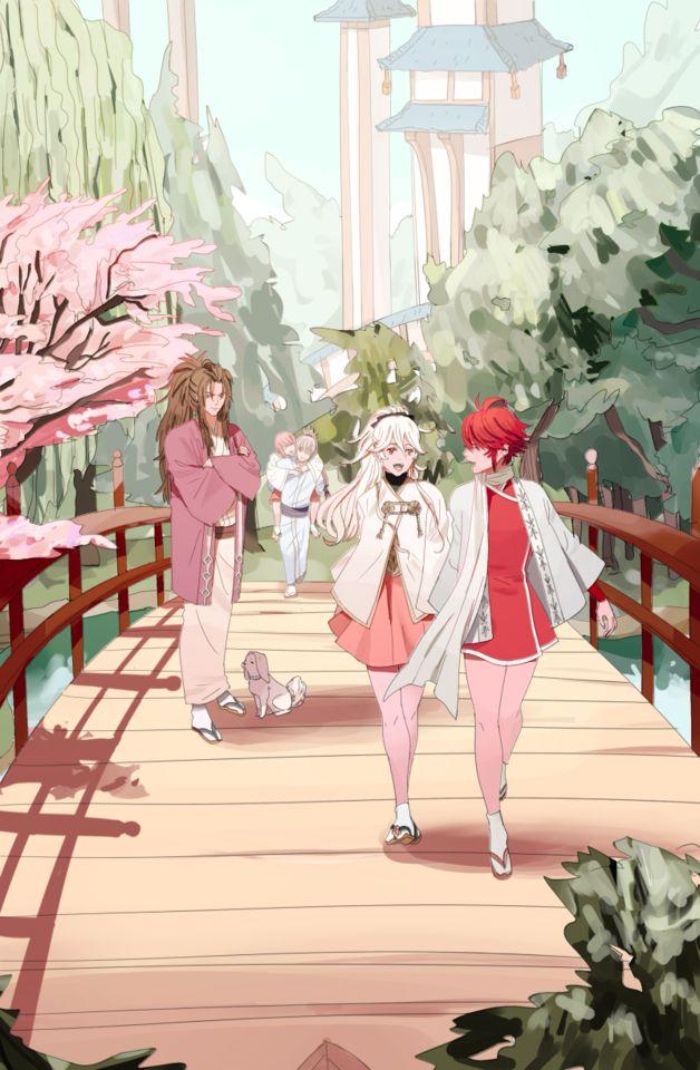 Fire Emblem If/Fates - Kamui/Corrin, Hinoka, Ryoma, Sakura, Takumi