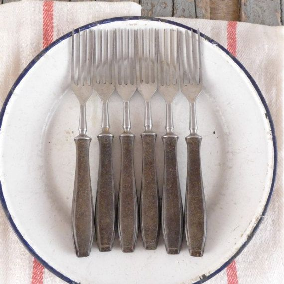 Old fork, vintage, kitchen, cutlery
