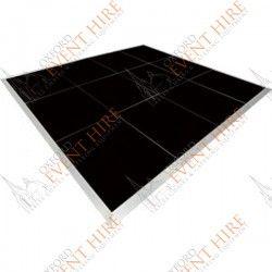 Black Dance Floor. 16ft x 16ft. http://www.oxfordeventhire.co.uk/dance-floors/254-dance-floor.html