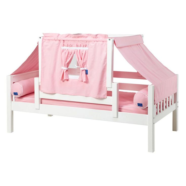 Yo Slat Girl Tent Daybed Pink and White Tent - MXTX210-2