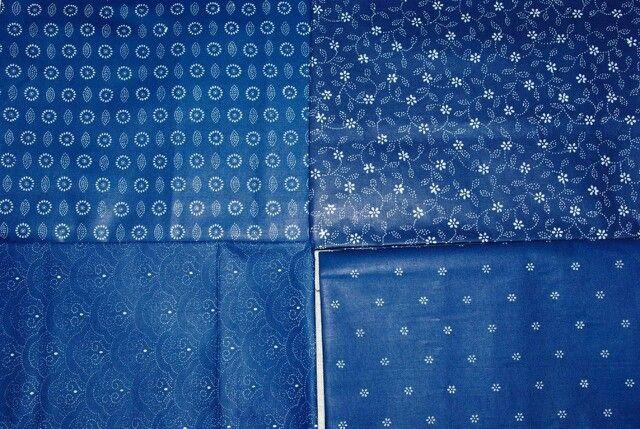 Ткани синие