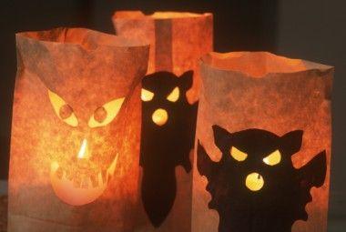 Come realizzare un portacandele di Halloween fai da te | Artiste per casa