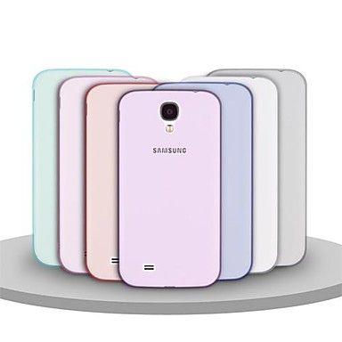 Angibabe Transparent Jelly TPU Soft Cover clar caz pentru i9500 Galaxy S4 – USD $ 2.99