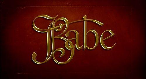 Babe (1995) - Intertitles