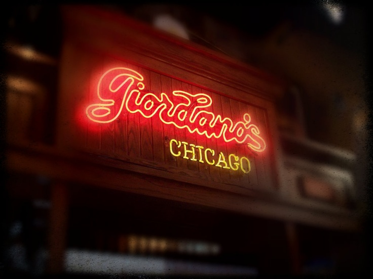 Giordano's Chicago style pizza