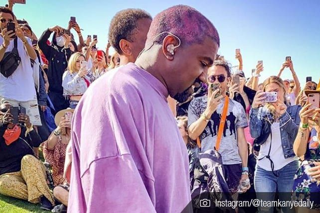 People Look For Meaning At The Kanye West Easter Service Coachella Music Festival Kanye West Gospel Music