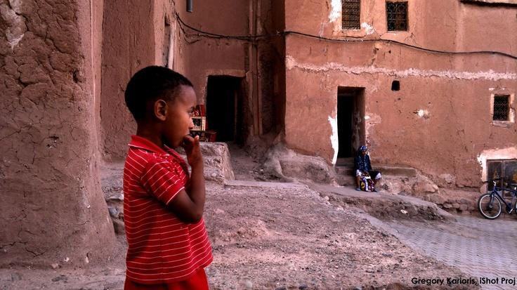 Moroccan Boy...by Gregory Karioris