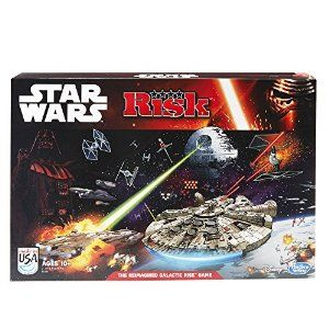 Risk: Star Wars Edition Game by Hasbro http://amzn.to/2hsusQq