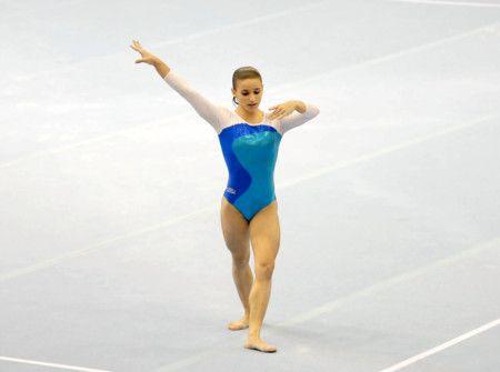 Jade Barbosa Floor Routine 2007