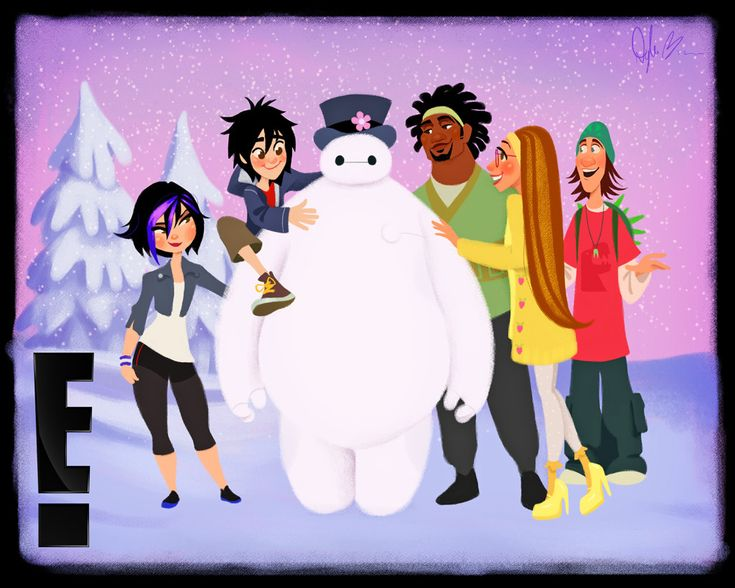 Best Disneys Big Hero Images On Pinterest Drawings - Baymax imagined famous disney characters