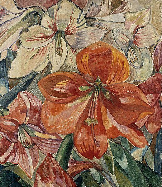 Hippeastrums growing, Grace Cossington Smith. (1892 - 1984)
