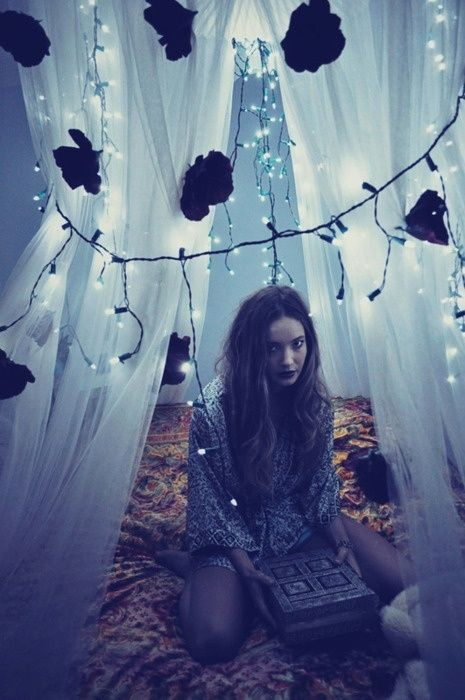 Fairy lights #DressUpPartyDown
