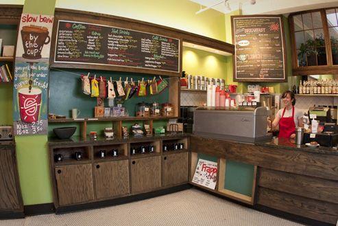 Small World Coffee.  254 Nassau St.  Princeton.