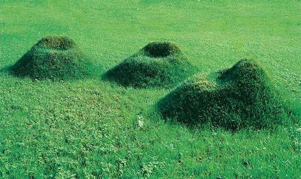 芝生のソファー6