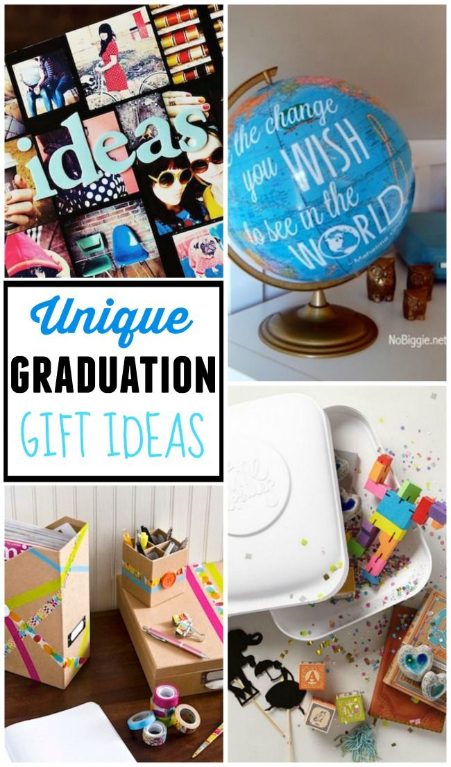 Unique Graduation Gift Ideas Lets Party Pinterest