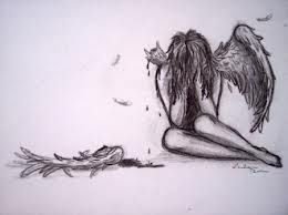 angel with broken wing tattoo - Google Search