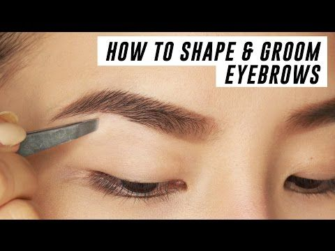 how to make perfect eyebrows at home