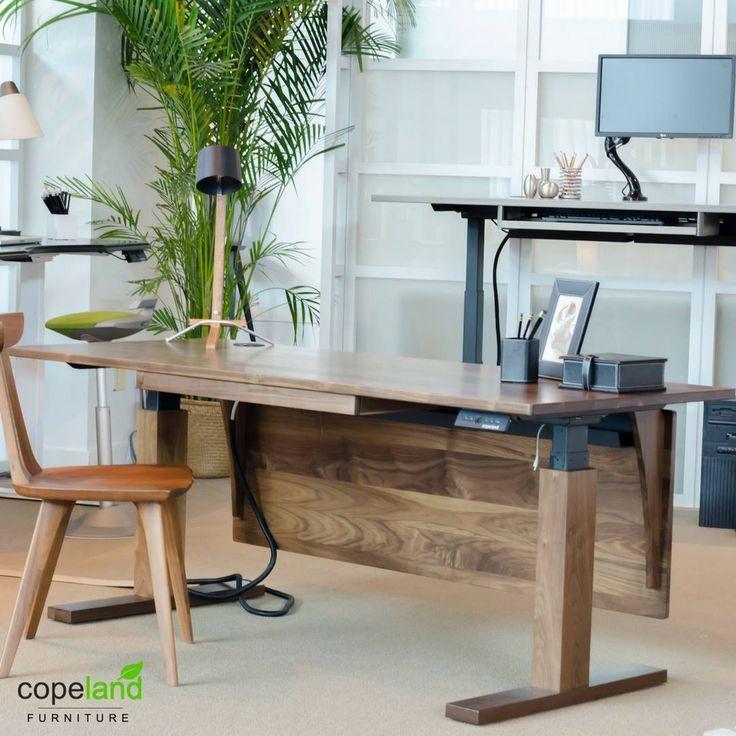 Bon Www.copelandfurniture.com #homeoffice #desk #standing Desk #americanmade