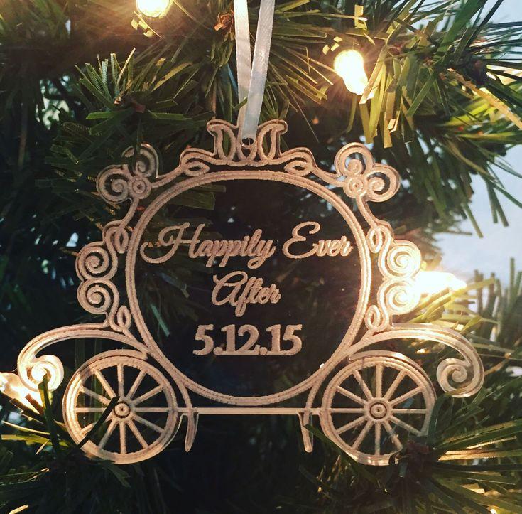 Cinderella Carriage ornament, Cinderella Christmas Ornament, Disney Wedding, Princess Ornament, Disney Christmas Ornament,Cinderella Wedding by GetHungUp on Etsy https://www.etsy.com/listing/246413524/cinderella-carriage-ornament-cinderella