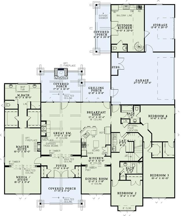 floor plan idea houseplans dream house floor plans