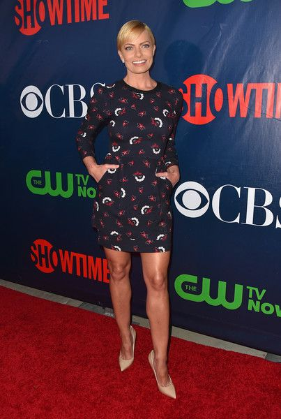 Actress Jaime Pressly attends CBS' 2015 Summer TCA party at the Pacific Design Center on August 10, 2015 in West Hollywood, California.