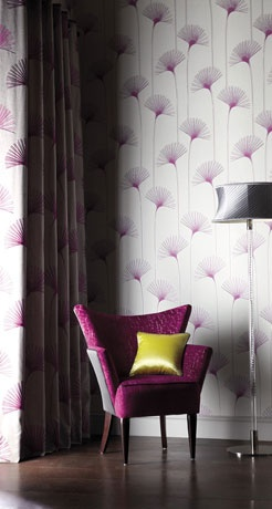 Harlequin wallpaper, momentum collection. Looks like papyrus, awesome.