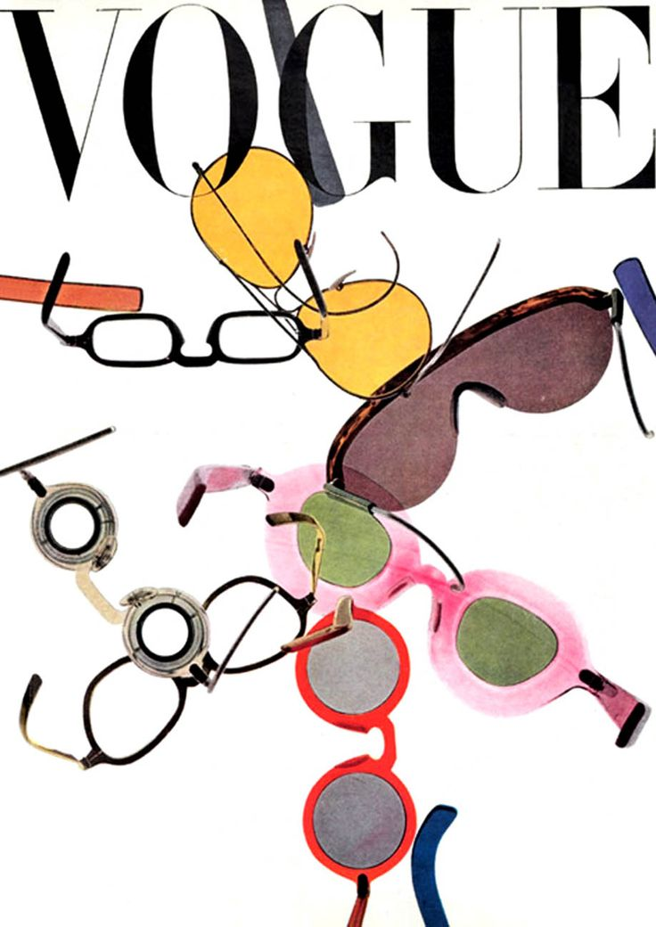 #VOGUE, 1946. #Gafas #divertidas, #sun #glasses