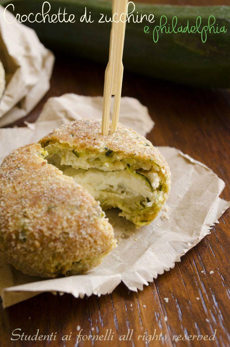 crocchette di zucchine e philadelphia al forno ricetta polpette di zucchine veloci
