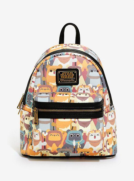 e6ebbe3aaaf Loungefly Star Wars Ewok Mini Backpack